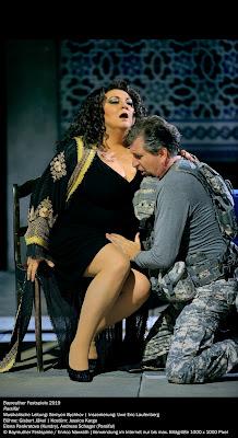 Wagner: Parsifal - Elena Pankratova, Andreas Schager - Bayreuth Festival 2019 (photo Enrico Nawrath)