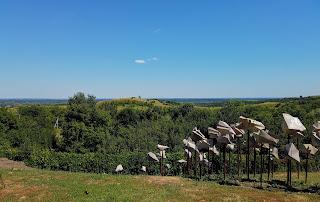 Опішня. Музей-заповідник українського гончарства. Оглядовий майданчик. Опішнянське городище