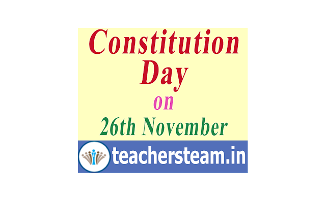 Constitution Day on 26th November