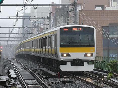 【中央線グリーン車導入で消滅へ!】総武緩行線の御茶ノ水行き