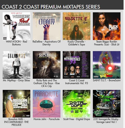 @Coast2Coast Premium Mixtapes Series Join Them! yvonnewilcox@yvonnewilcoxpenname.com