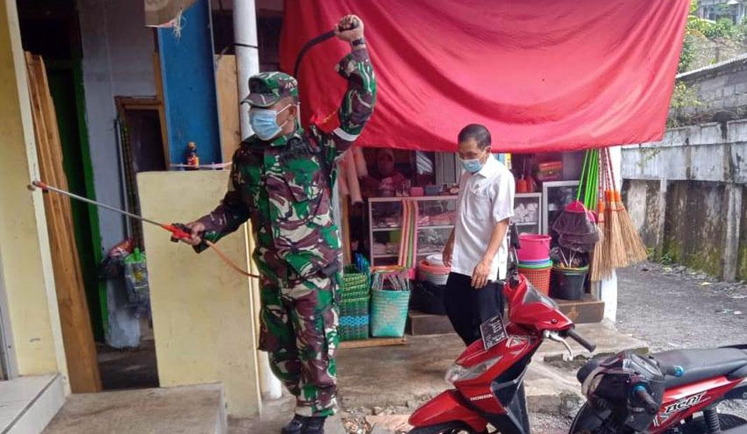 Antisipasi Kluster Pasar, Penyemprotan Disinfektan Rutin Dilakukan