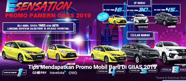 Promo Kredit DP Cicilan Murah Toyota 2019