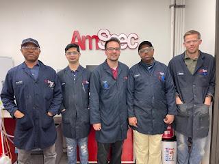 LPP award winners from Amspec Lab