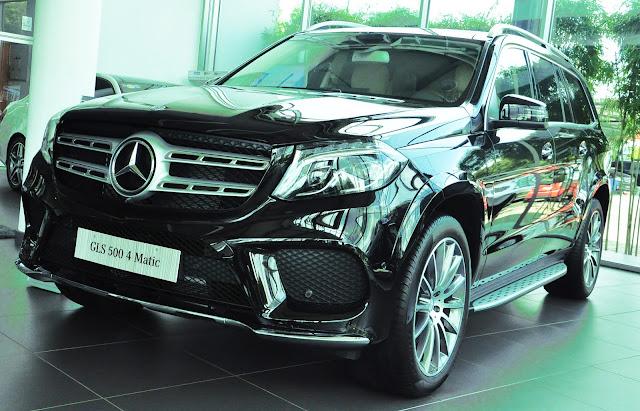 Mercedes GLS 500 4MATIC thách thức mọi đối thủ