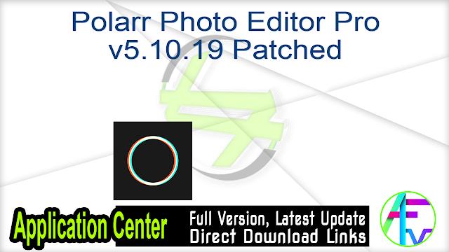 Polarr Photo Editor Pro v5.10.19 Patched