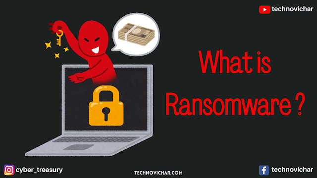 What is Ransomware and Types of Ransomware in Hindi
