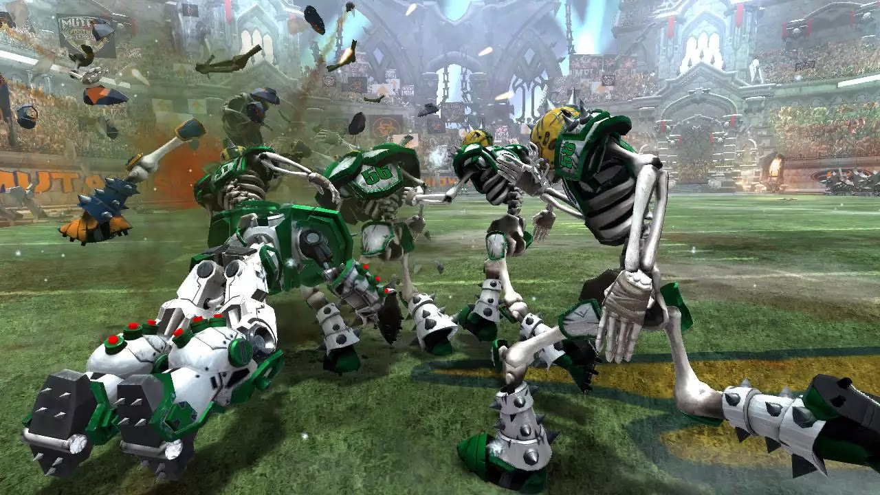 Mutant Football League Dynasty Edition game images
