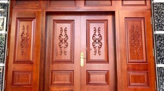 Thợ sơn cửa gỗ giá rẻ tại hà nội, Sơn PU lại cửa gỗ cũ như mới chuyên nghiệp uy tín