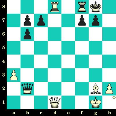 Les Blancs jouent et matent en 2 coups - Dmitri Reinderman vs Harmen Jonkman, Nijmegen, 1992