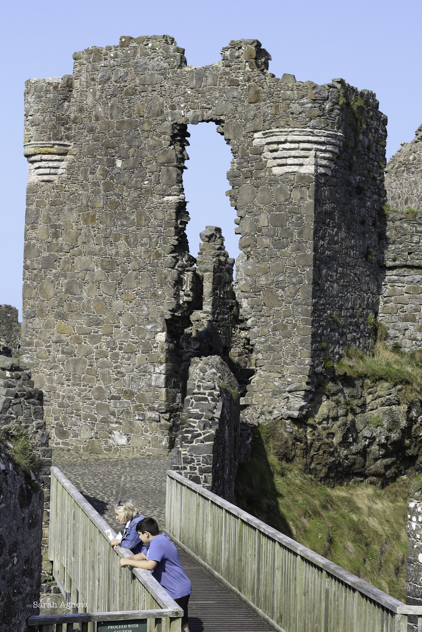 Notes from Northern Ireland - Dunluce Castle photo by Sarah Agnew