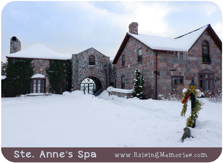 Sainte Annes Spa Winter experience blog review