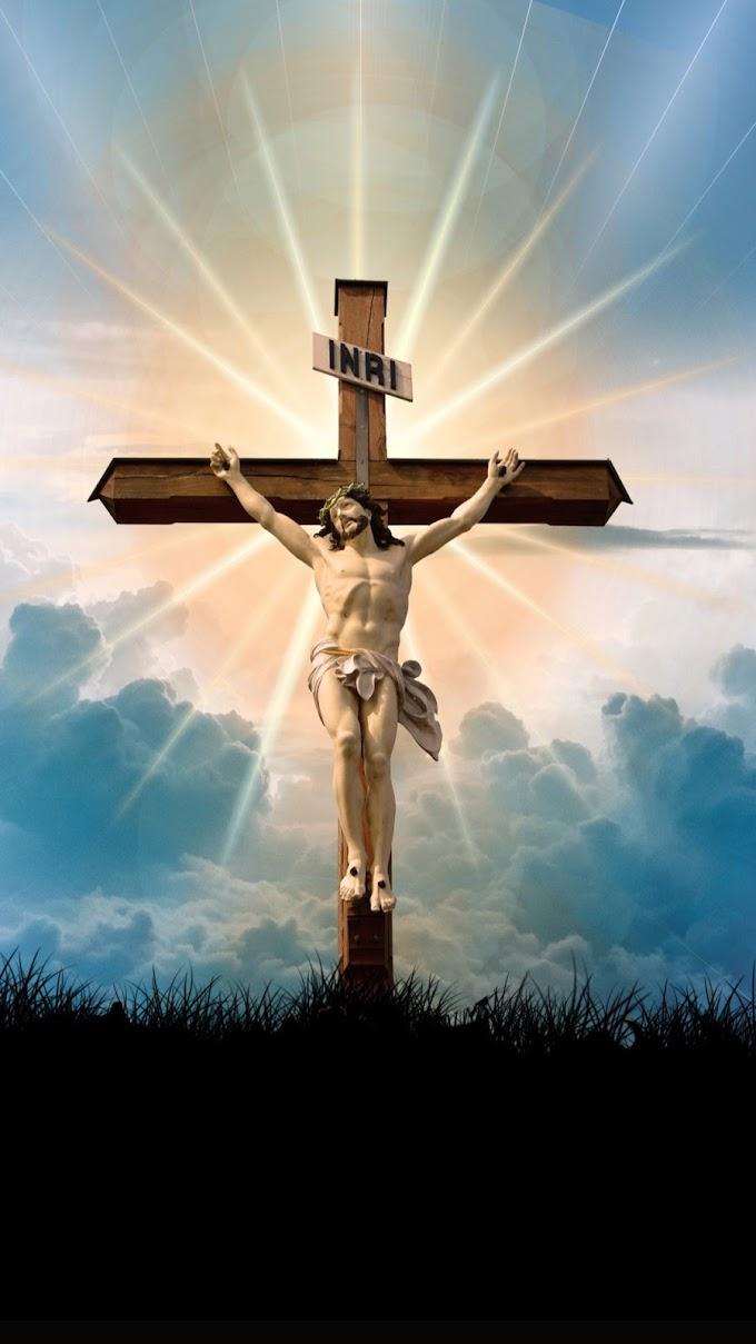 Papel de Parede Jesus Cristo Na Cruz