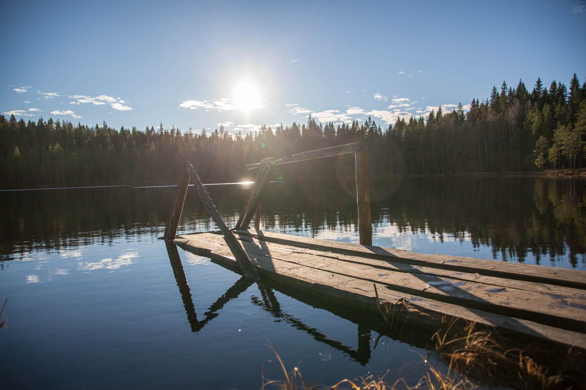 auringonpaiste seitseminen kansallispuisto retkeily