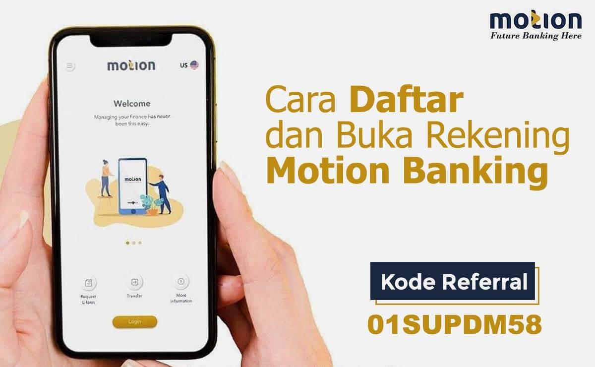cara daftar motion banking
