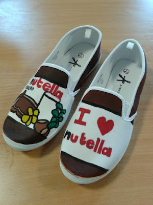 Nutella Themed Shoes
