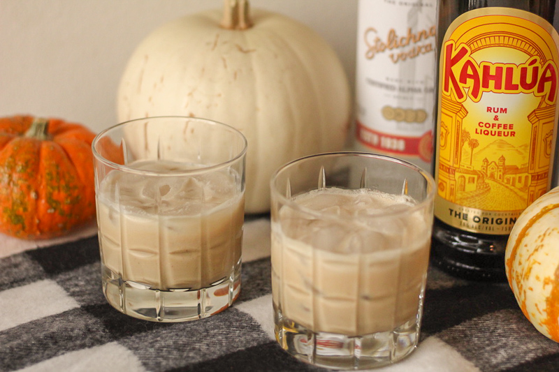 Warm & Creamy Pumpkin White Russians