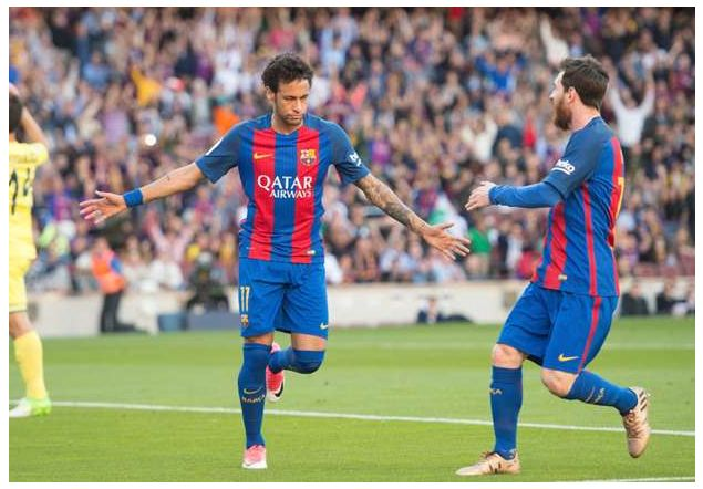 Video: Barcelona 4 – 1 Villarreal [La Liga] Highlights 2016/17
