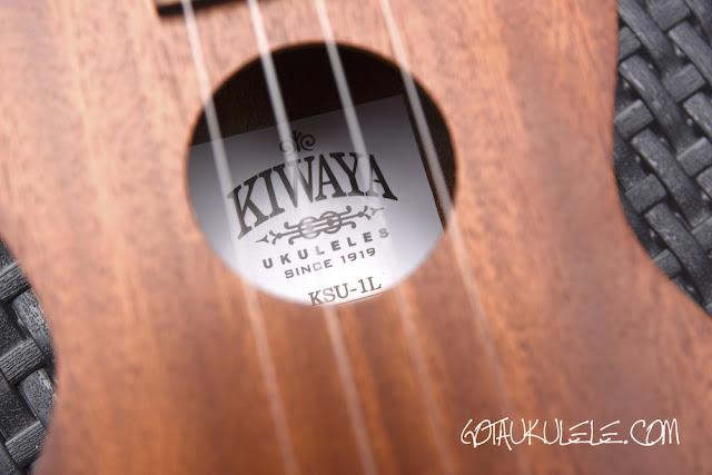 Kiwaya KSU-1L Ukulele label