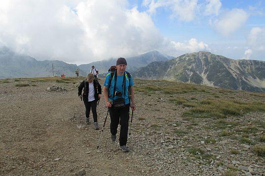 Opuszczamy przełęcz Kabata i kierujemy się na północ.