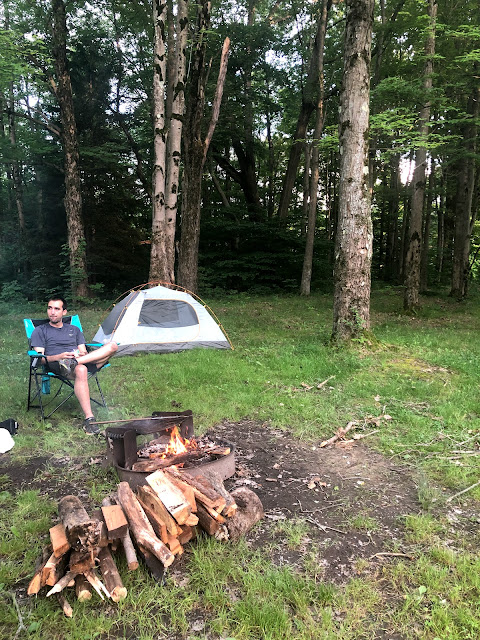 camping pymatuning state park