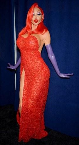 Heidi Klum Roger Rabbit costume