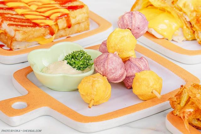 MG 7291 - 熱血採訪│台中人氣炭烤吐司,多達18種口味任你挑!還有18款酥皮蛋餅,連日式炸蝦都被包進來啦!