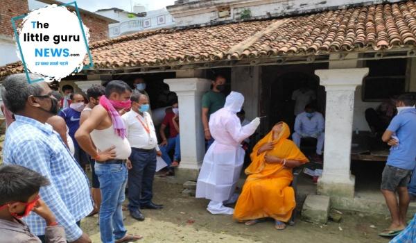 48 corona positive found in Patahi Bara Shankar village