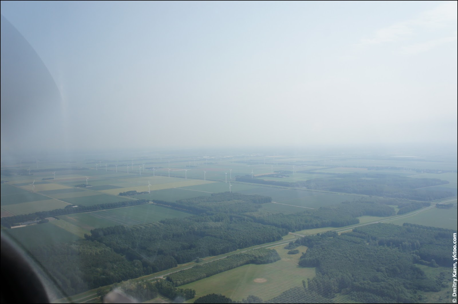 Holland from above.