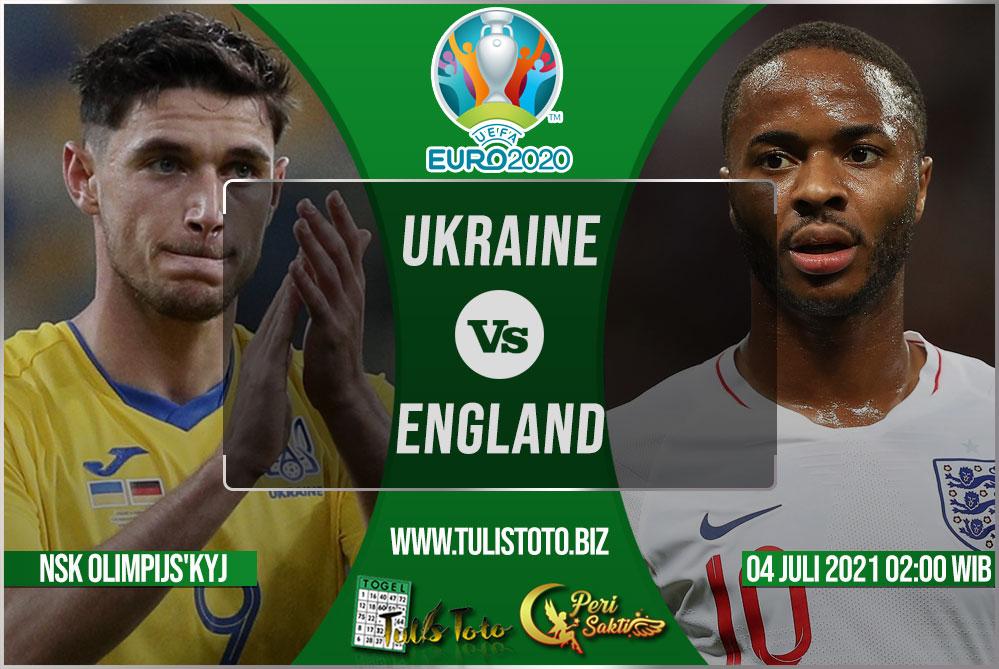 Prediksi Ukraine vs England 04 Juli 2021