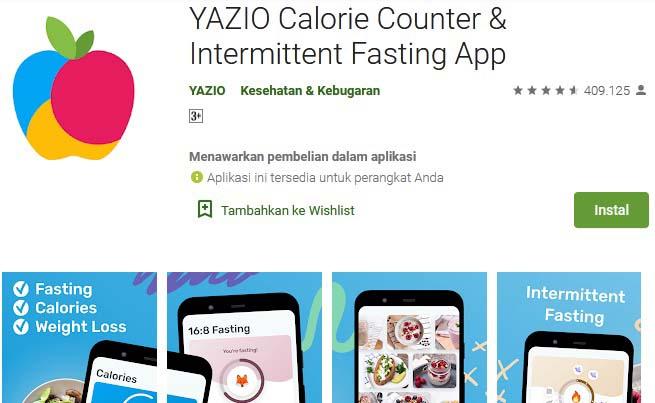 aplikasi penghitung kalori 7