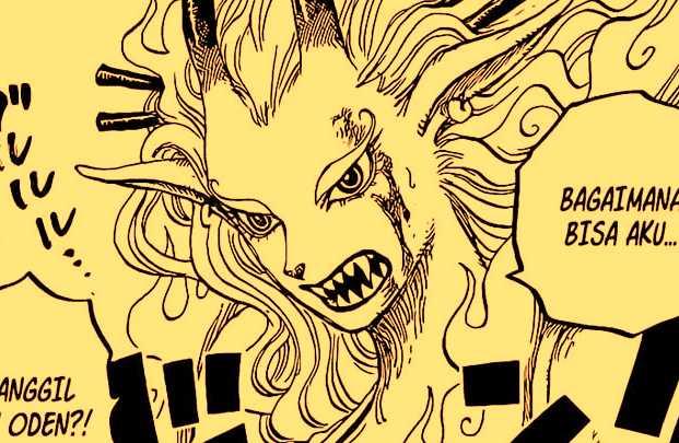 "Mode Hibrid Yamato dan Kekuatannya, ""akuma no mi devil fruit"""