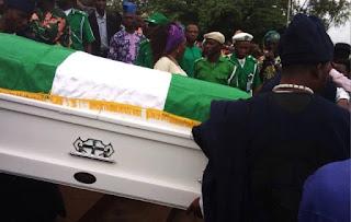 Adebayo faleti burial