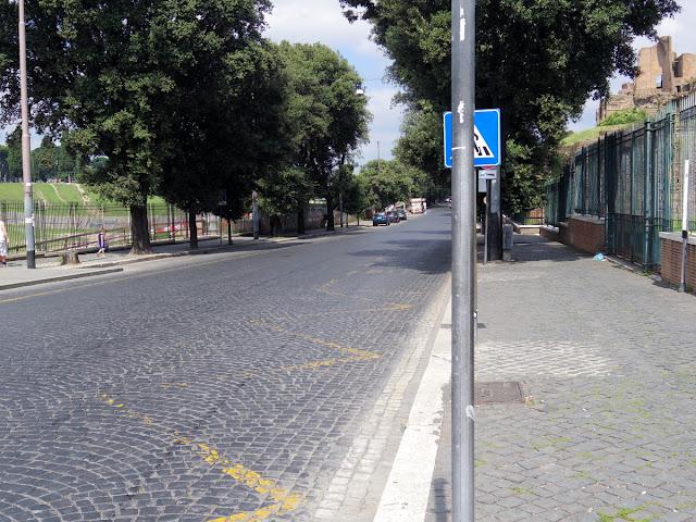 グランツーリスモ・ローマコース・ヘアピン直後のストレート