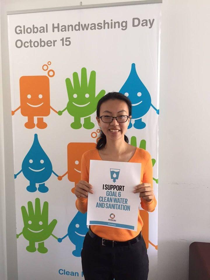 Global Handwashing Day Wishes Beautiful Image