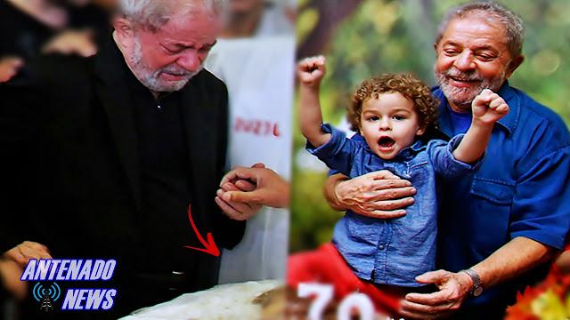 Resultado de imagem para lula e seu neto