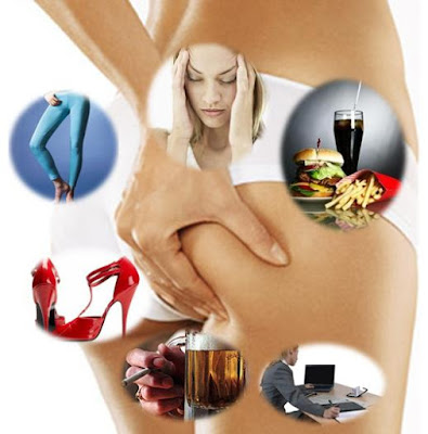 habitudes qui augmentent la cellulite