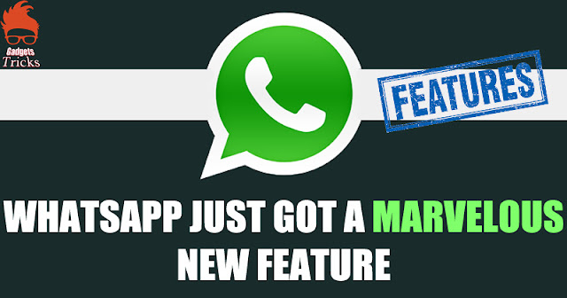New Update Of Whatsapp Brings An Fantabulous Novel Features !