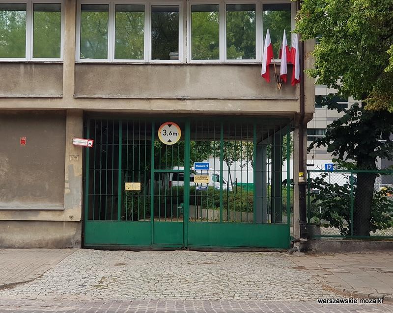 Zakłady Farmaceutyczne Unia Spółdzielnia Pracy Warszawa Warsaw chłodnia architektura Wola lata 60 architecture