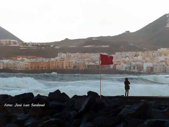 Avisos en Canarias por oleaje y vientos  el viernes 9 y el sábado 10 de noviembre / Foto: José Luis Sandoval