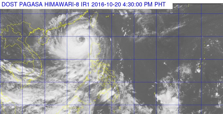 Typhoon Lawin not a threat anymore, heads for China