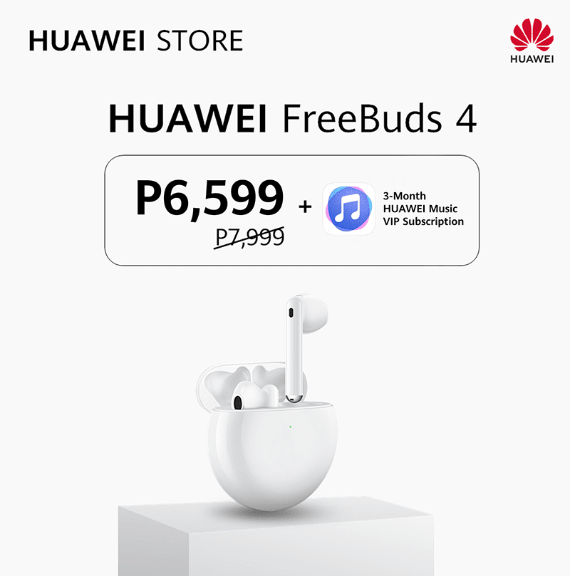 A PHP 1,400 discount and FREE 3-month VIP subscription on Huawei Music?