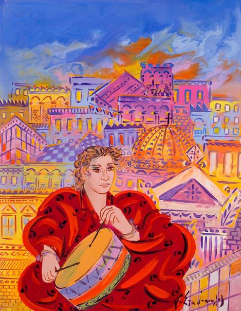 Εγκαίνια της έκθεσης «Τρεις γενιές Ελληνικής Ζωγραφικής - Χαρακτικής» στη Δημοτική Πινακοθήκη Λάρισας