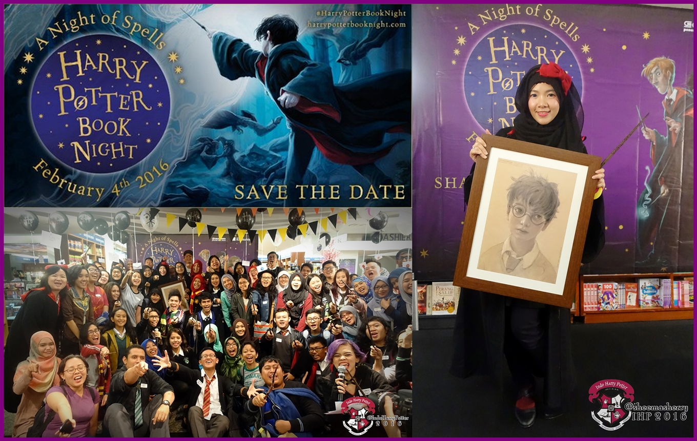 Harry Potter Book Night Was Held Together All Around The World On February 4th 2016 As Celebration Of Official Launching And