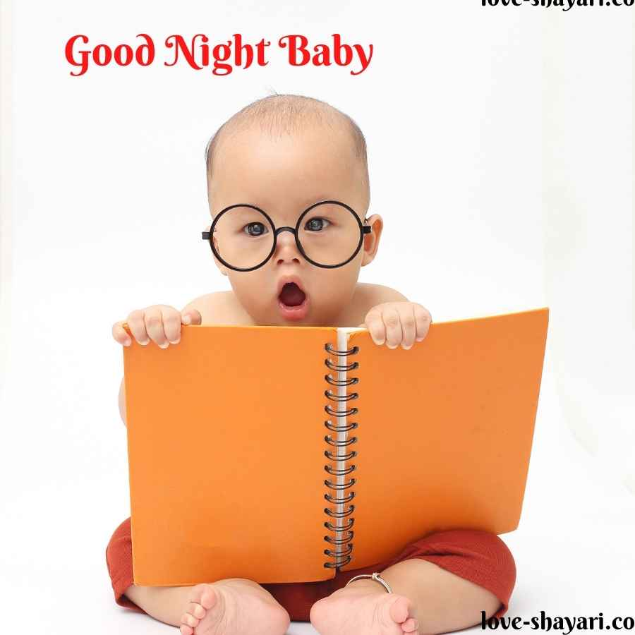 good night funny baby images