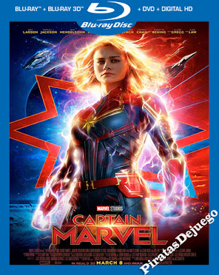 Capitana Marvel (2019) HD 1080P Latino