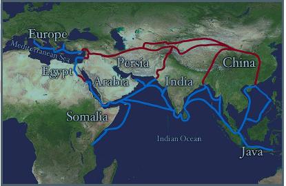 European trade Route