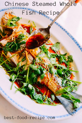 Chinese Steamed Whole Fish Recipe