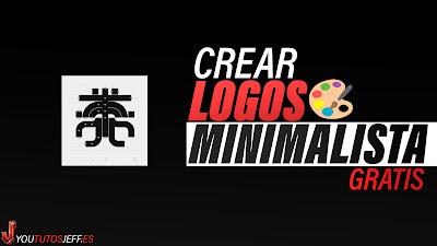 crear logo minimalista