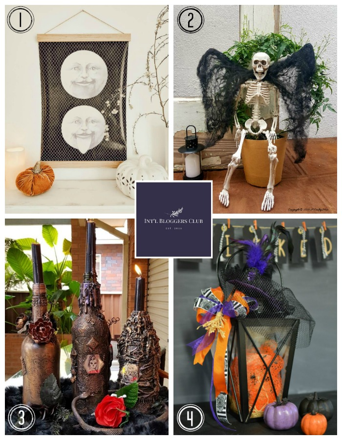 Halloween Ideas from the Int'l Bloggers Club